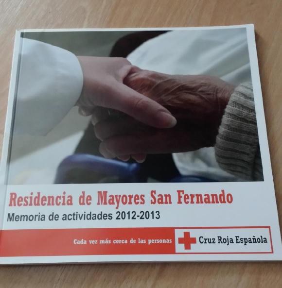 Memoria de actividades Residencia de Mayores Cruz Roja de San Fernando
