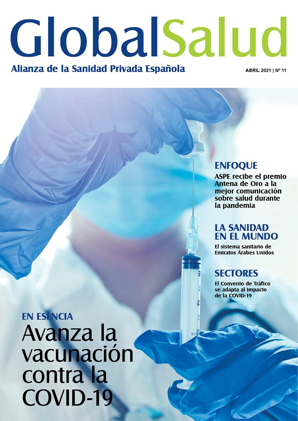 Los pormenores del proceso de vacunación contra la COVID-19 en el nuevo número de la Revista Global Salud
